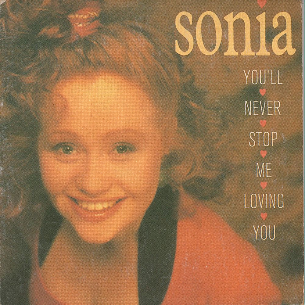 Sleeve of Sonia's single